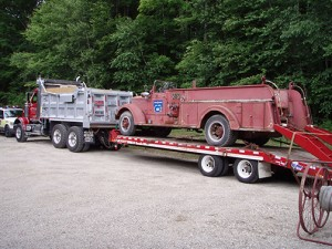 1951 mack on trailer
